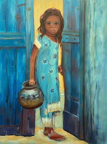 Amigold, Eine andere Welt, Menschen: Kinder, Gegenwartskunst