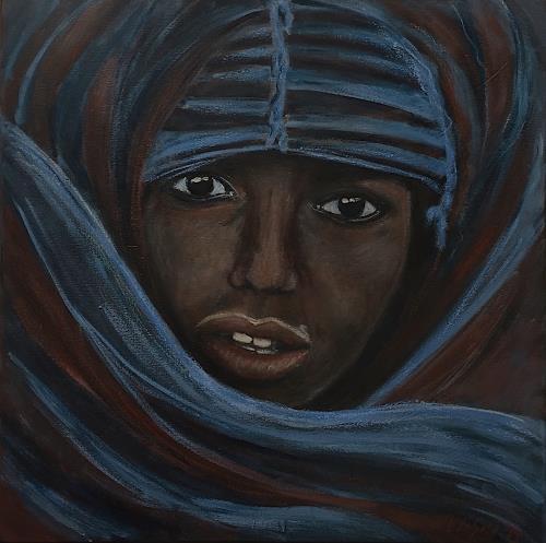 Amigold, Saharachild, Menschen: Porträt, Gegenwartskunst