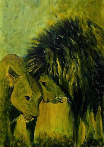 Amigold, Intesa, Tiere: Land, Gegenwartskunst