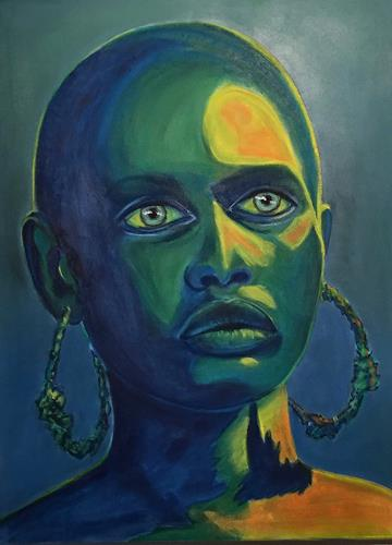 Amigold, Afrika, Menschen: Porträt, Gegenwartskunst