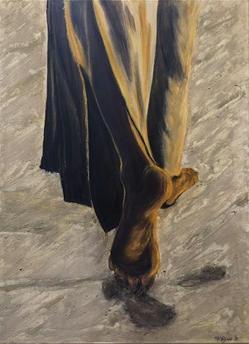 Amigold, Questa è la VIA - Dies ist der WEG, Menschen: Mann, Gegenwartskunst, Expressionismus