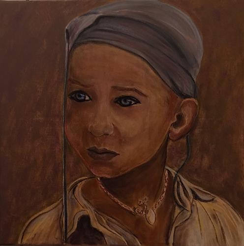 Amigold, Kann ich dir vertrauen?, Menschen: Porträt, Gegenwartskunst, Expressionismus