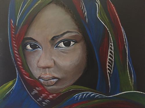 Amigold, Misstrauen, Menschen: Porträt, Gegenwartskunst