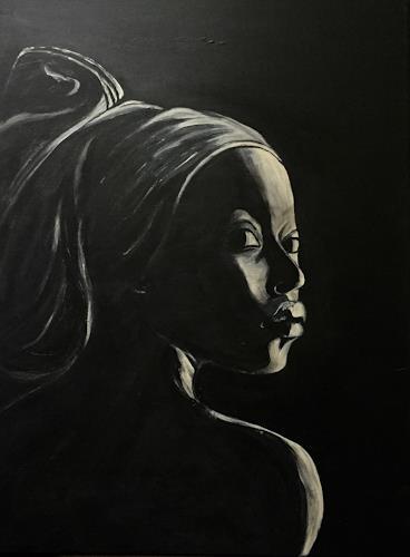Amigold, Himba II, Menschen: Frau, Gegenwartskunst