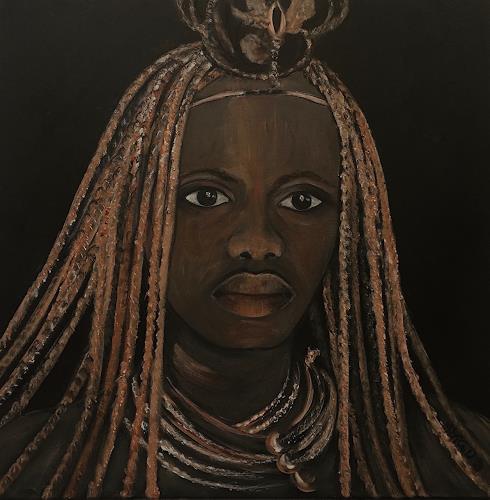 Amigold, Himba I, Menschen: Frau, Gegenwartskunst