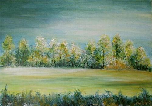 Amigold, Frühling, Landschaft: Frühling