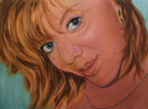 Amigold, SW Portrait, Menschen: Frau