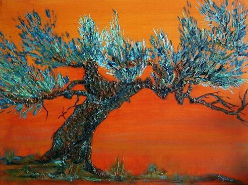 Amigold, Olivenbaum II, Pflanzen: Bäume