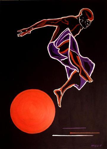 Amigold, Sun Jumping, Bewegung, Abstrakte Kunst
