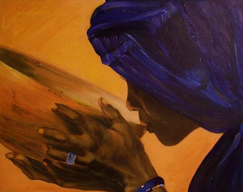 Amigold, Hazar, Menschen: Frau