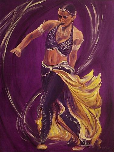 Amigold, Bayadère I, Bewegung