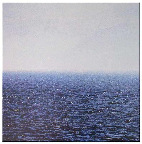 Miriam Stone, meer, Landschaft: See/Meer, Natur: Wasser, Gegenwartskunst, Expressionismus