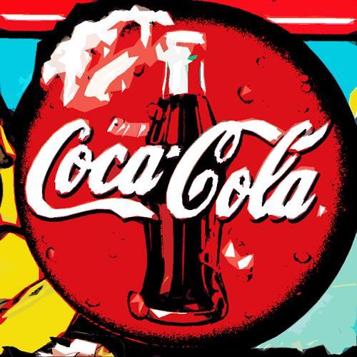 Miriam Stone, coke, Markt, Symbol, Pop-Art