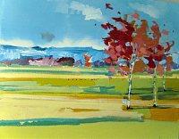 Max-Koehler-Landschaft-Ebene-Landschaft-Herbst-Neuzeit-Romantik