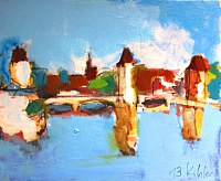 Max-Koehler-Landschaft-Moderne-Impressionismus