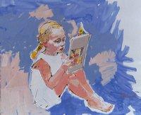 Max-Koehler-Menschen-Kinder-Menschen-Kinder-Moderne-Impressionismus