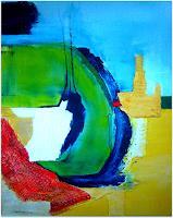 Elfriede-Breitwieser-Abstraktes-Moderne-Abstrakte-Kunst-Informel