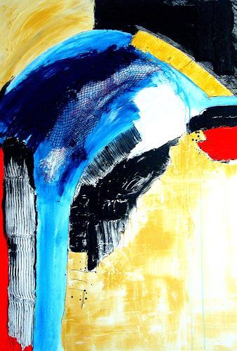 Elfriede Breitwieser, Kontraste 18, Abstraktes, Informel