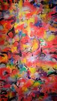 Richard-Lazzara-Abstraktes-Moderne-Abstrakte-Kunst-Action-Painting