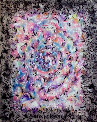 Richard Lazzara, Void Within Us, Abstraktes, New Image Painting