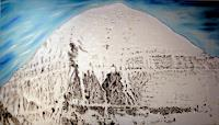 Richard-Lazzara-Religion-Landschaft-Berge-Gegenwartskunst--New-Image-Painting