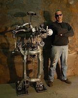 B. Gray, Robot sculpture #1