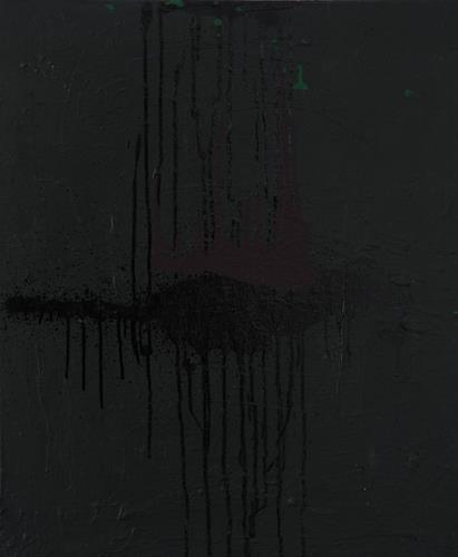 Ursula Guttropf, Mystic III, Mythologie, Gegenwartskunst, Abstrakter Expressionismus