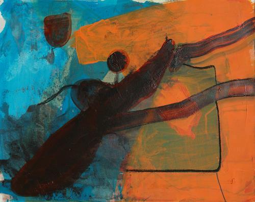 Ursula Guttropf, Let's start, Abstraktes, Abstraktes, Abstrakter Expressionismus