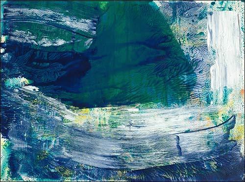 Ursula Guttropf, Seebeben, Abstraktes, Diverses, Abstrakter Expressionismus