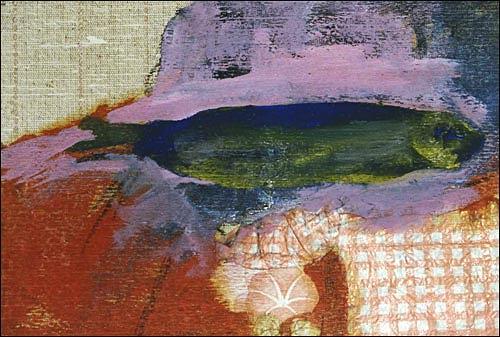 Ursula Guttropf, Fischstilleben, Tiere: Wasser, expressiver Realismus, Expressionismus