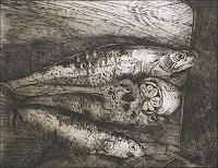 Ursula-Guttropf-Diverse-Tiere-Moderne-expressiver-Realismus