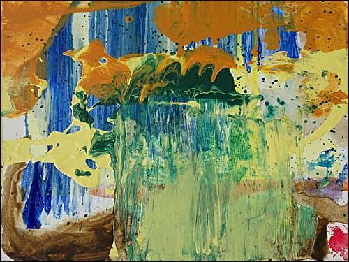 Ursula Guttropf, Wachsen, Diverses, Abstraktes, Abstrakter Expressionismus
