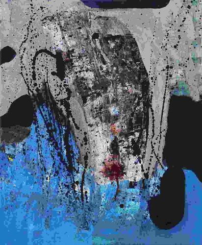 Ursula Guttropf, Fremder, Mythologie, Abstrakter Expressionismus