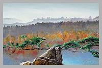 Valeriy-Grachov-Landschaft-Huegel-Landschaft-Berge-Gegenwartskunst-Gegenwartskunst