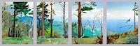 Valeriy-Grachov-Landschaft-Berge-Natur-Gestein-Neuzeit-Realismus