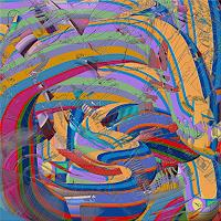 V. Grachov, 3D abstract worms 03