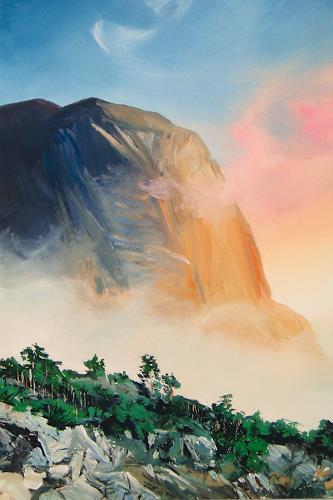 Valeriy Grachov, Crimea 172, Landschaft: Berge, Natur: Gestein, Realismus, Expressionismus