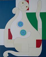 Hildegarde-Handsaeme-Fantasie-Dekoratives-Gegenwartskunst-Gegenwartskunst