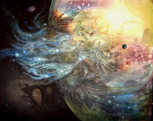 Natalia Rudsina, Die Rückseite des Mondes 1, Fantasie, Mythologie