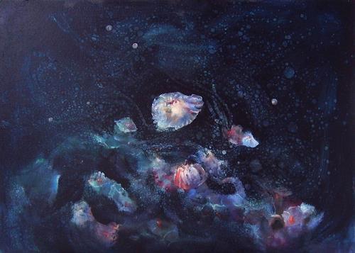 Natalia Rudsina, Meduse, Fantasie, Natur: Wasser