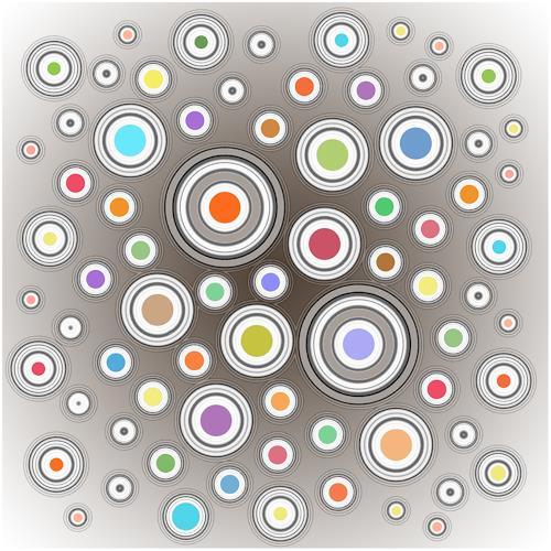 James Marsh, Concentrical, Abstraktes, Abstraktes, Abstrakte Kunst, Abstrakter Expressionismus