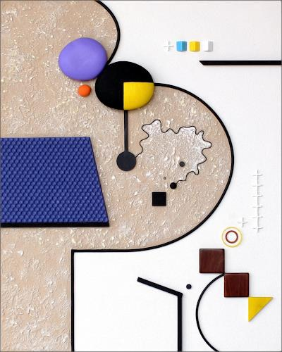 James Marsh, Synaesthetic, Abstraktes, Abstrakte Kunst, Abstrakter Expressionismus