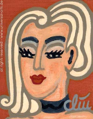 universal arts Jacqueline Ditt Mario Strack Kunst Menschen: Gesichter Menschen: Porträt Moderne Expressionismus - universal-arts-Jacqueline-Ditt---Mario-Strack-Menschen-Gesichter-Menschen-Portraet