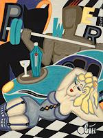 universal-arts-Jacqueline-Ditt---Mario-Strack-Akt-Erotik-Akt-Frau-Menschen-Frau-Moderne-Expressionismus