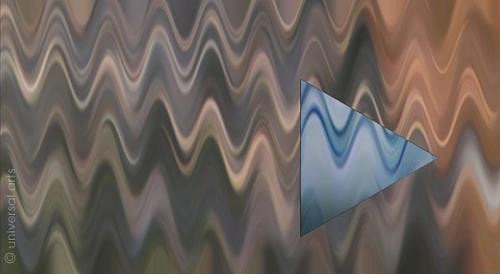 universal arts Jacqueline Ditt & Mario Strack, World One 3 by Mario Strack, Abstraktes, Musik, Minimal Art