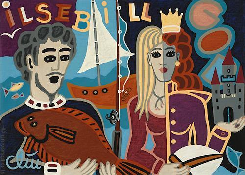 universal arts Jacqueline Ditt & Mario Strack, Ilsebill the Fisherman' Wife, Gesellschaft, Fantasie, Expressionismus