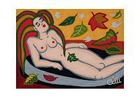universal-arts-Jacqueline-Ditt---Mario-Strack-Menschen-Frau-Akt-Erotik-Moderne-Pop-Art