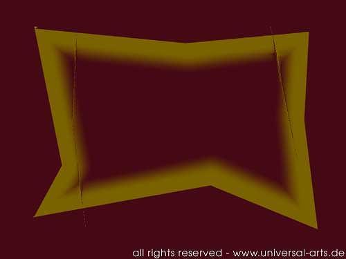 universal arts Jacqueline Ditt & Mario Strack, The Morph 3 von Mario Strack, Abstraktes, Symbol, Minimal Art