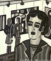 """universal arts Jacqueline Ditt Mario Strack Kunst Menschen: Mann Menschen: Porträt Moderne Expressionismus. """" - universal-arts-Jacqueline-Ditt---Mario-Strack-Menschen-Mann-Menschen-Portraet"""