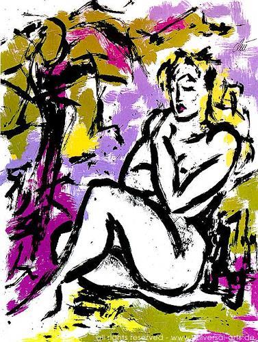 universal arts Jacqueline Ditt & Mario Strack, Die Unschuld von Jacqueline Ditt, Akt/Erotik: Akt Frau, Diverse Erotik, Expressionismus